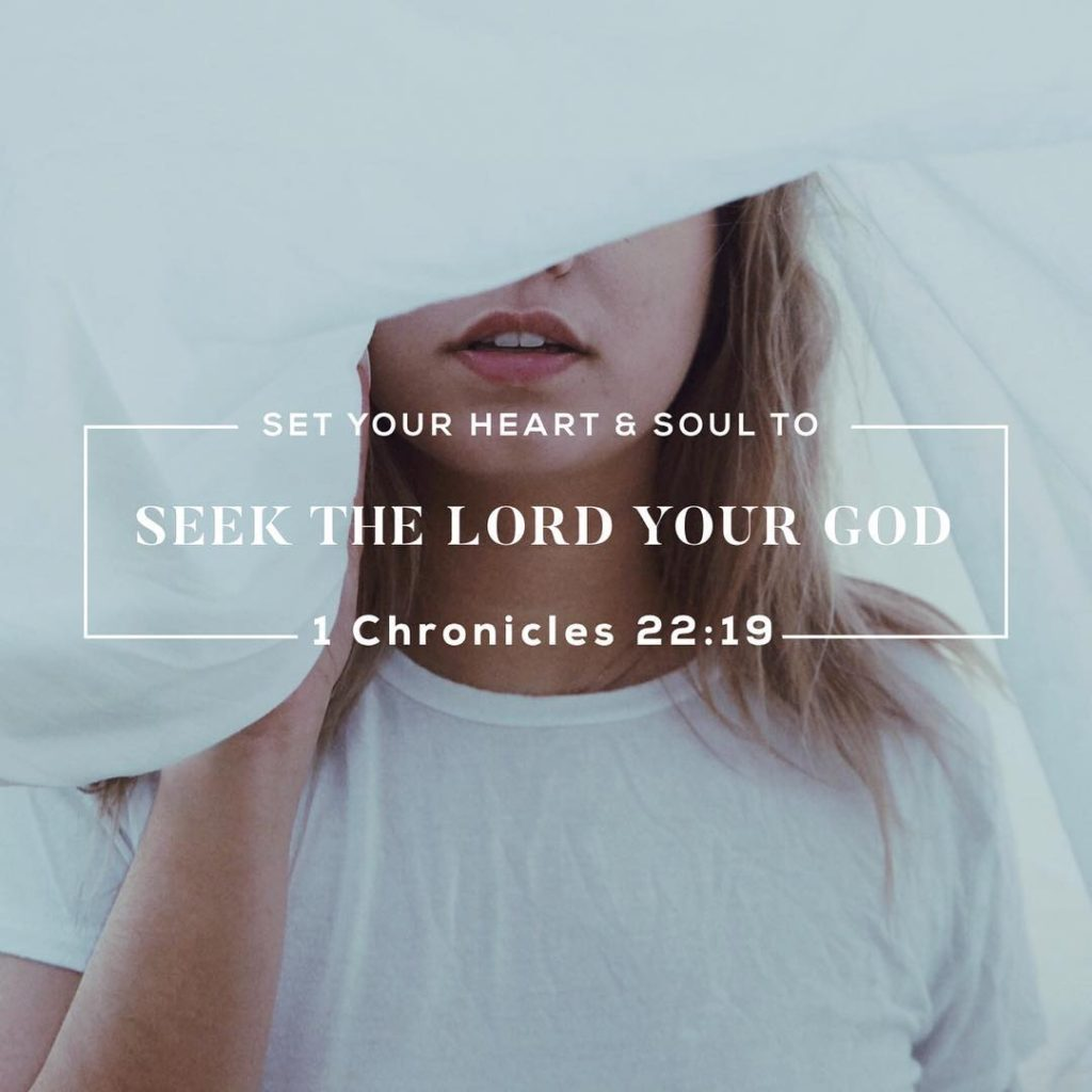 Now set your heart and your soul to seek thehellip