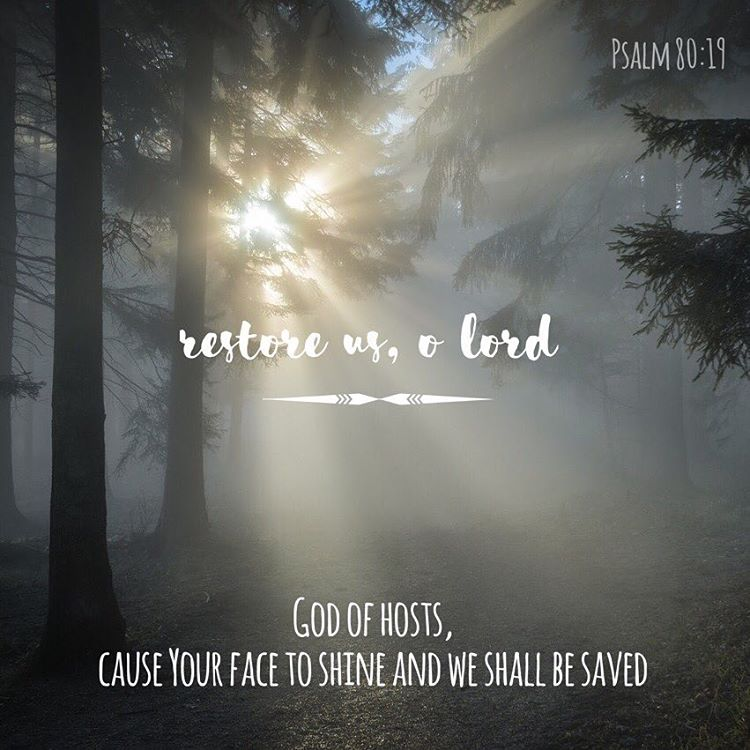 Restore us O Lord God of hosts cause Your facehellip