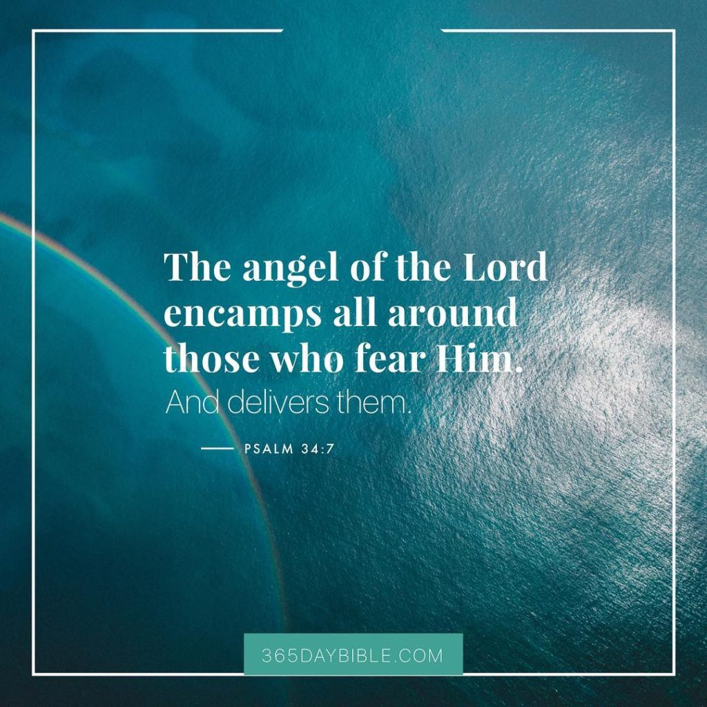 The angel of the LORD encamps all around those whohellip