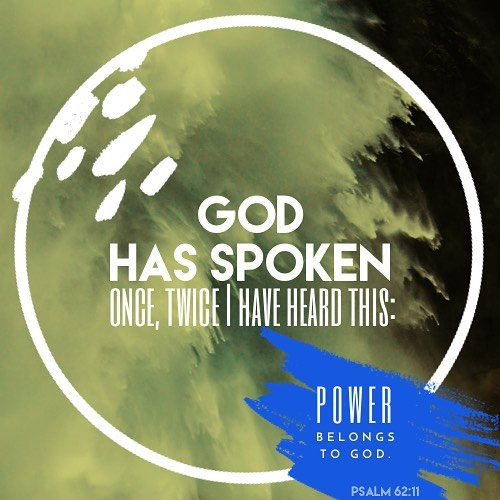 Click link in bio for todays reading God has spokenhellip