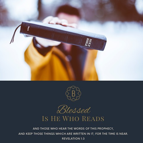 Blessed is he who reads and those who hear thehellip