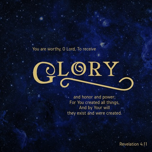 You are worthy O Lord To receive glory and honorhellip