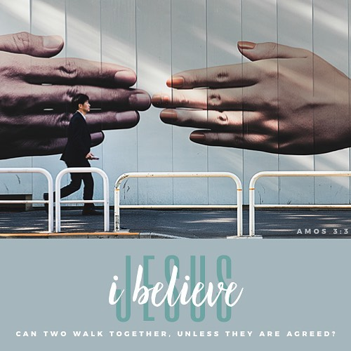 Do two walk together unless they have agreed? Amos 33hellip